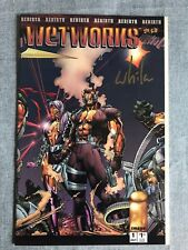 Wetworks 1 Variant Wildstorm Signed COA Edition 606 of 3000 rare VF/NM