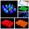 24 X LED TEA LIGHT TEALIGHT CANDLE CANDLES FLAMELESS WEDDING BATTERY INCLUDED
