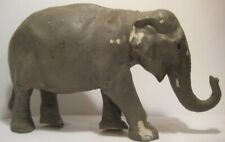 Old Large Rubber Elephant Toy