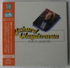 RICHARD CLAYDERMAN - Piano Et Orchestre + 2 JAPAN SHM MINI LP CD NEU! VICP-70039