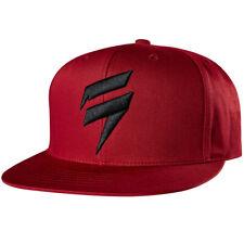 Shift Men's MX Casuals Corp Snapback Hat/Cap - Dark Red