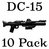 LEGO Star Wars Guns DC-15 Clone Trooper Blaster Rifle Rebel Storm Weapon 10 Pk