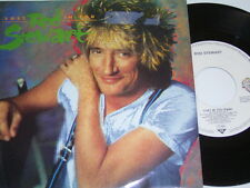 "7"" - Rod Stewart Lost in you & Almost Illegal - Promo MINT # 0919"