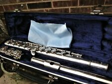 Clean/Fully Adjusted Yamaha Silver Plated Flute YFL221 100% Pos Fdbck! Japan