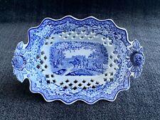 Boucher & Co. ~ 19th Century English Blue & White Porcelain Dish