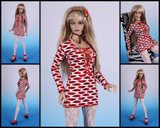 ☆ *~KISS ME~* jersey Dress #1 for Jessica [EID IPLEHOUSE] ☆~BJD doll
