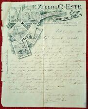 2264-VENETO, ALBETTONE ED ESTE, FORNI A FUOCO CONTINUO E. ZILLO & C.- ESTE, 1905