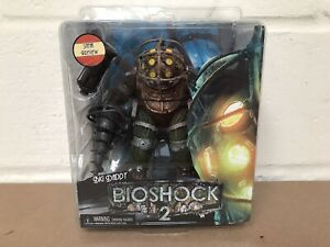 """NECA BIOSHOCK 2 BIG DADDY SNEAK PREVIEW 7"""" ACTION FIGURE - NEW SEALED"""