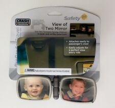 Safety 1st Baby Mirror Flexible View Of Two Mirror Baby Travel Mirror