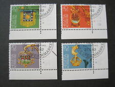Schweiz  Pro Patria MiNr. 1223-1228 Eckrand gestempelt  (D 452)