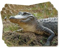 Crocodile Print Picture Placemats in Gift Box, AR-C1P