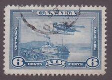 Canada, 1938, 6c blue air, SG 371, Sc C6, used.