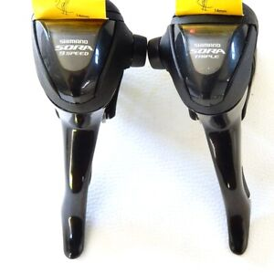 Pair Of Levers Road SHIMANO Sora ST-3500 Triple 3 X 9 Speed New
