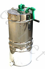 Honey Extractor Manual 4frame Stainless Steel with Filter 350 8754 2NDS