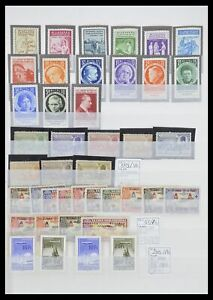Lot 33447 Stamp collection World key stamps 1900-1955.
