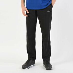 Pantalone sportivo Uomo Champion 212915-KK001 Nero cotone jersey