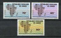 38076) Congo Rep.1971 MNH Telecommunication Net 3v