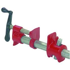 "2 Piece 3/4"" Heavy Duty Cast Iron Pipe Clamp With Worldwide Shipping!"