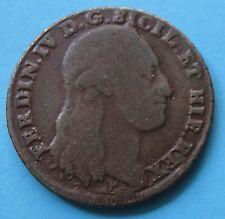 8 Tornesi r. 8 c. 1797 Ferdinando IV Regno delle Due Sicilie
