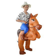 Horse Inflatable Costume Blow Up Inflatable Fancy Dress Cosplay Party Stage Y2Z4