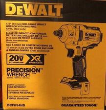 DEWALT DCF894HB 20V MAX XR 1/2 in. Mid-Range Cordless Impact Wrench  New