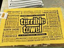 PITTSBURGH STEELERS NEIGHBORHOOD TERRIBLE TOWEL RARE! MYRON COPE NWT NEW