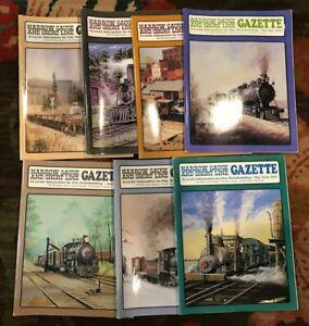 Narrow Gauge and Short Line Gazette Lot of 7 2001 - 2004