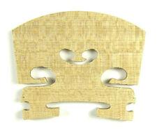 NEW premium grade violin bridge made of selected aged maple 1/4 size free post