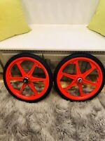 "GT BMX Tomahawk Mag Wheels - 20"" Rims W/ Tires Front & Rear Set  GT Performer"
