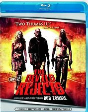NEW BLU-RAY // THE DEVIL'S REJECTS - ROB ZOMBIE - Sid Haig, Sheri Moon Zombie, B