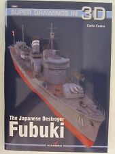 Kagero - The Japanese Destroyer Fubuki (Super Drawings in 3D)
