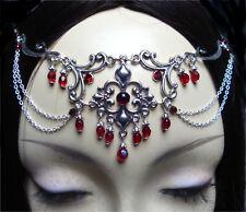^v^Stirnschmuck*Persephone*Gothic*LARP*circlet*medieval*Fleur de Lys*Tiara^v^