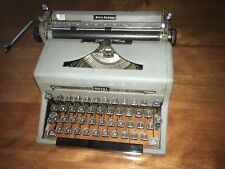 VINTAGE 1949 ROYAL QUIET DELUXE GRAY  TYPEWRITER NO CASE  s/n A-1936113
