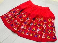 Boho Gypsy Embroidery India Kuchi Banjara Tribal Ethnic Rabari Belly Dance Skirt