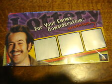 MY NAME IS EARL EMMY FYC DVD 4episodes Comes in promo Lotto Scratcher  Jason Lee
