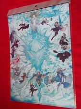 NEW! FINAL FANTASY 25th Anniversary A4 Size FILE FOLDER Yoshitaka Amano UK DESP