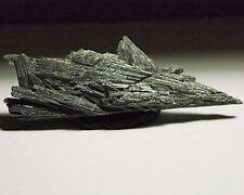 Kyanite Black rough-crystal-specimen,75x25x8mm,77.96, KY-A62, natural