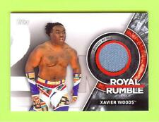 2018 Topps Wwe Royal Rumble Xavier Woods Event Used Mat Relic #099/299