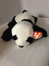 "Ty Beanie Buddies PEKING PANDA BEAR Plush Stuffed Animal 14"" long 1998"