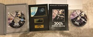 UK R2 DVD STANLEY KUBRICKS 2001 A SPACE ODYSSEY SPECIAL EDITION 2 DISC+FILM CELL