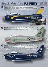 Imprimé échelle 1/72 North-American FJ-4 Fury # 72083
