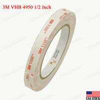 3M VHB Tape 5962Permanent Bonding Tape Roll 0.5 in x 15 ft. Conformable ...