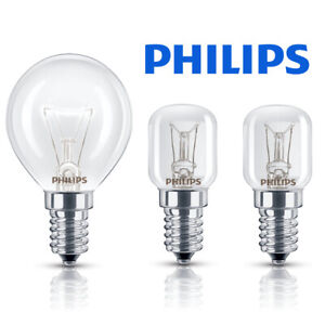 Philips Oven Bulb 15w 25w 40w 240v SES E14 300 Degree Cooker Bulb [Multipacks]