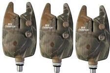 3 X  Ron Thompson Blaster Camo VT Bite Alarm Alarms Carp Fishing FREE BATTERIES
