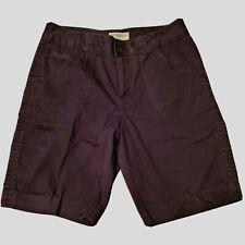 St Johns Bay Stretch 8 Petite Black Bermuda Zip Cotton Shorts Spring