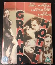 GRAND HOTEL Blu-Ray SteelBook Region Free. John Barrymore Greta Garbo. Last One!