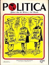 Politica Quince dias de Mexico y del Mundo July 1965 #126