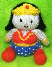 KNITTING PATTERN - Wonder Woman inspired chocolate orange cover or 14 cms toy