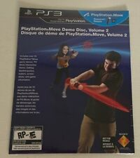 PlayStation Move Demo Disc, Volume 2 - Sony PS3, Brand New, Factory Sealed