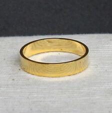 2.5cm 24k chapado en Oro Anillo De Latón Esfera Soporte Espécimen 297